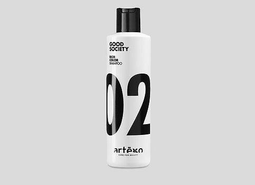 Good Society 02 Rich Color Shampoo & Conditioner