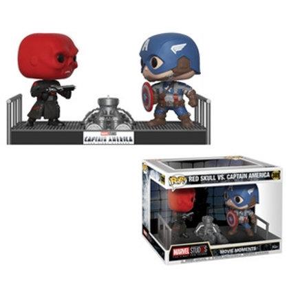 Funko POP! Captain America Movie Moment - Red Skull vs Captain America (389)