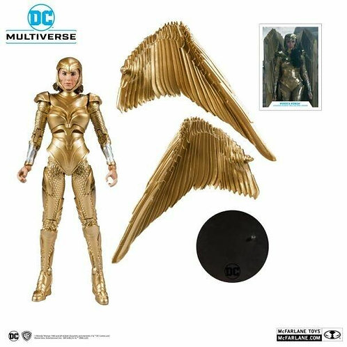 Mcfarlane DC Multiverse 7' Wonder Woman Gold