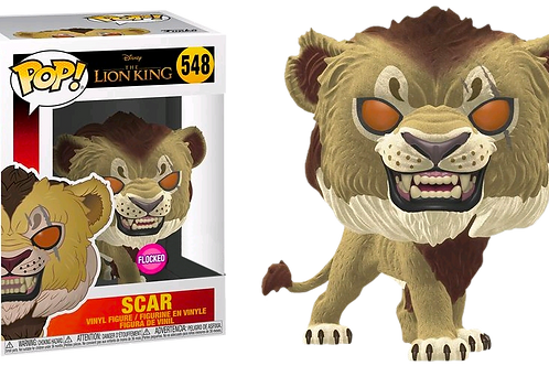 Funko POP! Lion King Live Action - Scar Flocked Special Edition Sticker  (548)