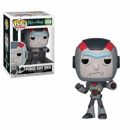 Funko POP! Rick And Morty -  Purge Suit Rick (566)