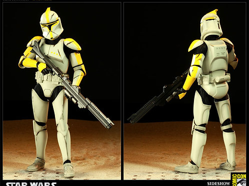Sideshow Collectibles Star Wars Clone Commander Phase 1 1/6