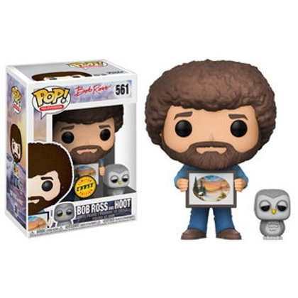 Funko POP! Bob Ross Bob Ross and Hoot Chase (561)