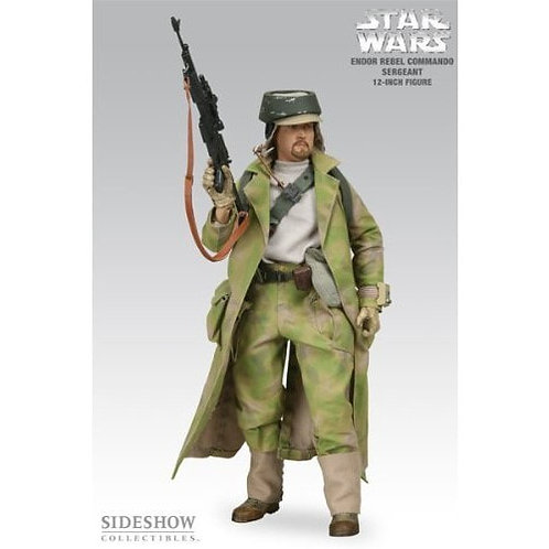 Sideshow Collectibles Star Wars -  Rebel Commando Sergeant Endor Ex 1/6