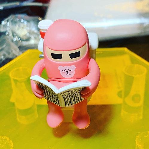 Funko Paka Paka Toilet Ninjas Pink John Chase