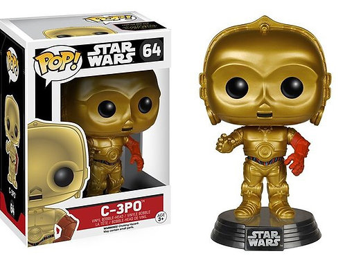 Funko POP! Star Wars Force Awakens -  C-3P0(64)
