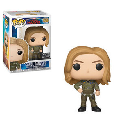 Funko POP! Captain Marvel - Carol Danvers No Sticker (436)