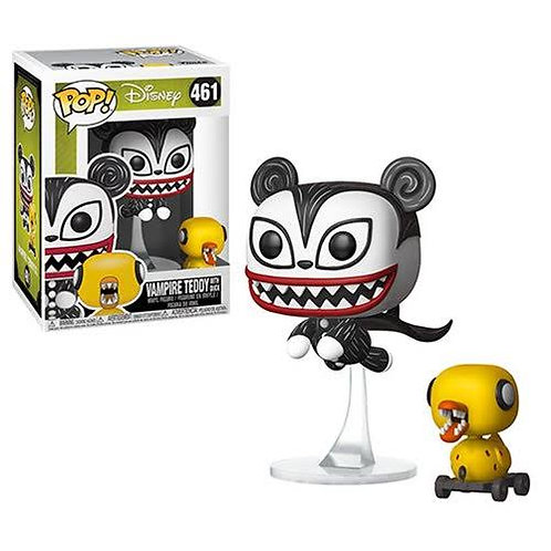 Funko POP! Nightmare Before Christmas - Vampire Teddy with Undead Ducky (461)