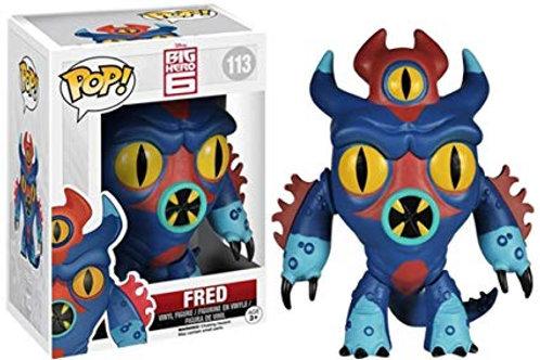 Funko POP! Big Hero 6 - Fred (113)