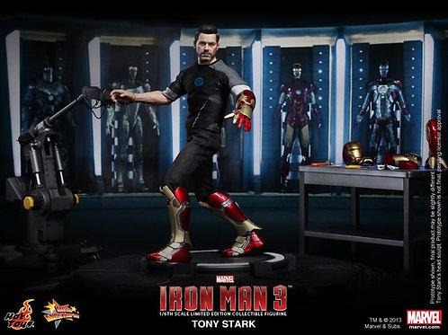 Hot Toys MMS 191 Armor Testing Tony Stark