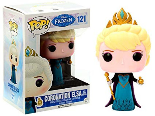 Funko POP! Frozen - Coronation Elsa with Scepter and Orb (121)