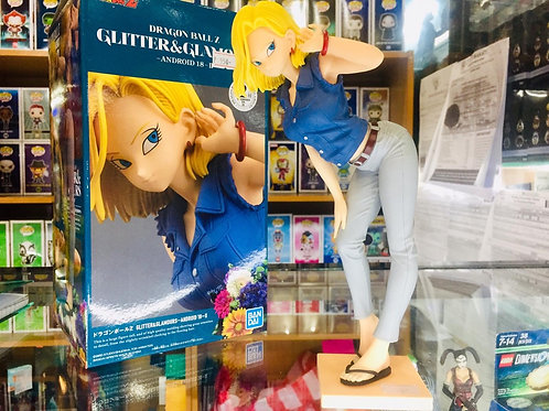 Banpresto DBZ Glitter and Glamour Android 18 Blue Jacket