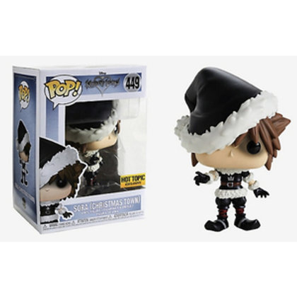 Funko POP! Sora Christmas Town Hot Topic Exclusive (449)