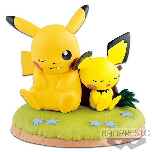 Banpresto Pokemon Pikachu and Pichu
