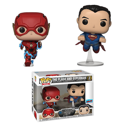 Funko POP! FCE Justice League Flash and Superman 2 pack