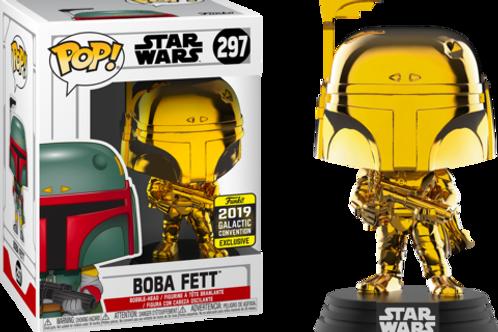 Funko POP! Boba Fett Gold Chrome (297)