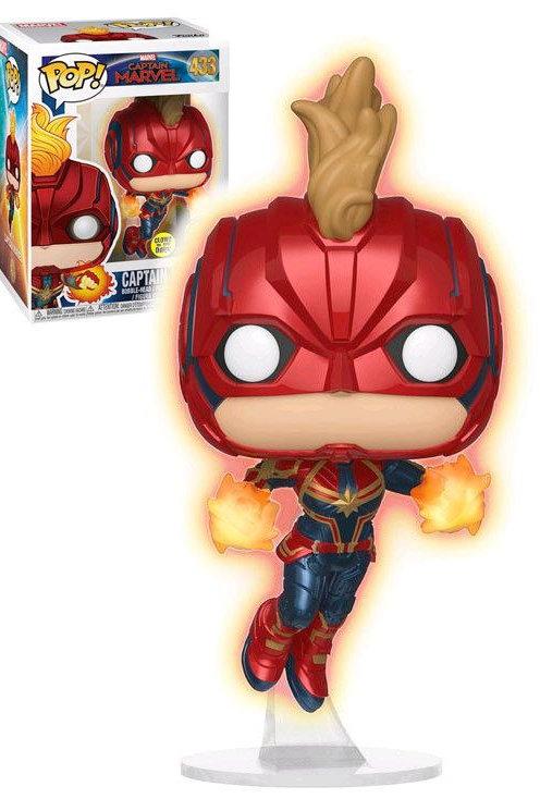 Funko POP! Captain Marvel - Captain Marvel Masked gitd SE EX  (433)