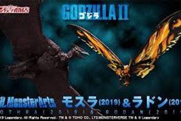 SH MonsterArts Godzilla - Mothra and Rodan 2019