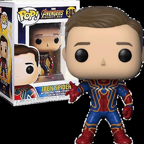 Funko POP! Avengers: Infinity War Iron Spider Unmasked (305)