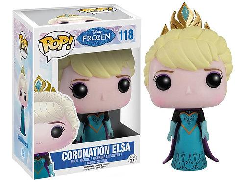 Funko POP! Frozen - Coronation Elsa  (118)