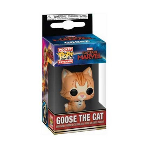 Funko POP! Keychain Captain Marvel - Goose the Cat