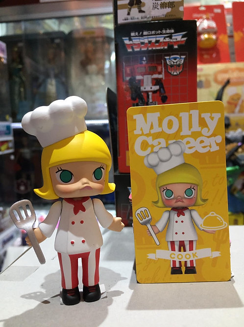 POPMART MOlly Career Molly - Cook