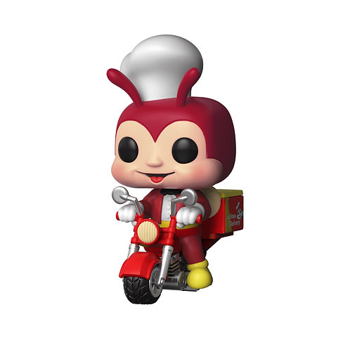 Funko POP! Rides Jollibee - Jollibee on Delivery Bike (90)
