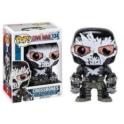 Funko POP!  Captain America Civil War  - Crossbones (134)