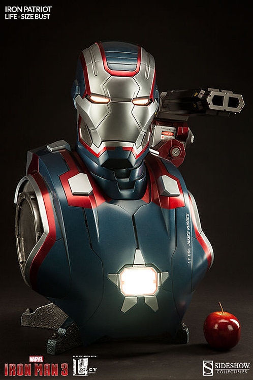 Sideshow Collectibles Iron Patriot Life Size Bust