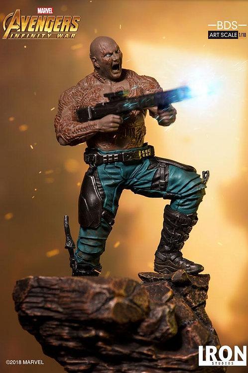 Iron studios Avengers Infinity War -  Drax 1/10 scale