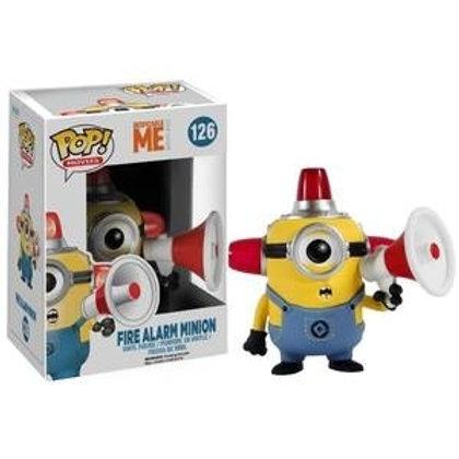 Funko POP!  Despicable Me  - Fire Alarm Minion (126)