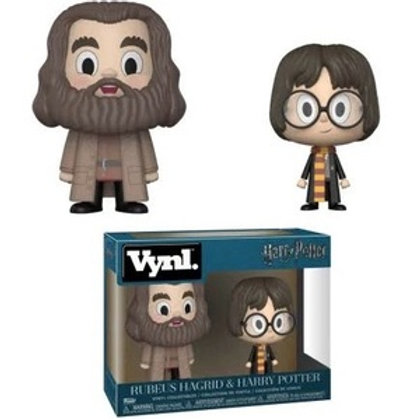 Vynl Rebeus Hagrid and Harry Potter