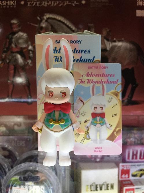POPMART Satyr Rory Adventures in Wonderland - White Rabbit
