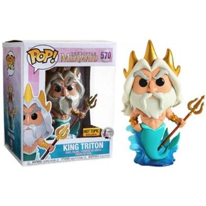 Funko POP! Disney Little Mermaid - King Triton (570)