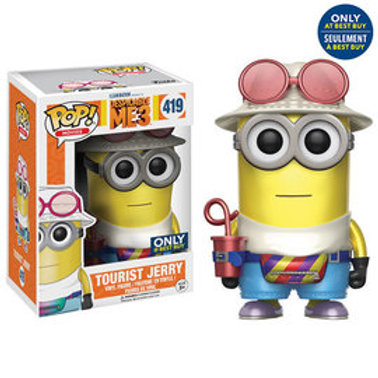 Funko POP! Despicable Me - Tourist Jerry Metallic No sticker (419)