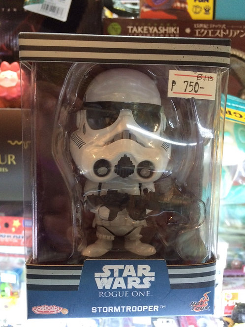 Hot Toys Cosbaby Star Wars Rogue One Stormtrooper (Back In Box)
