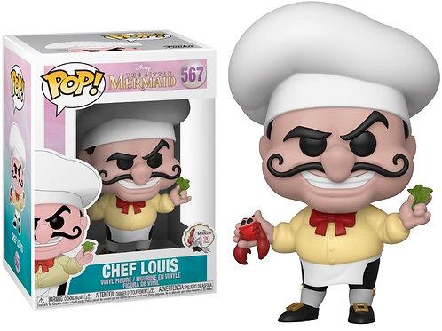 Funko POP! Little Mermaid - Chef Louis (567)