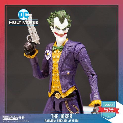 Mcfarlane DC Gaming 7' Arkham Asylum Joker