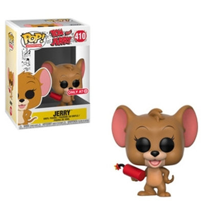 Funko POP! Tom and Jerry - Jerry with Dynamite SE Exclusive (410)