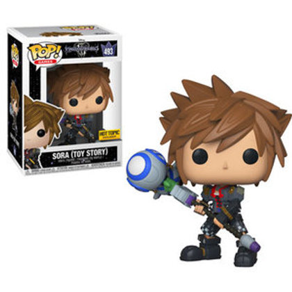 Funko POP! Kingdom Hearts - Sora Toy Story Hot Topic Exclusive  (493)