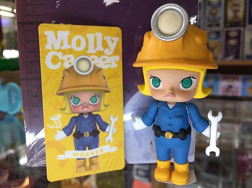POPMART Molly Career - Worker Blue