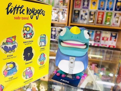 POPMART Coarse Little Voyagers Sub-Zero - Frog