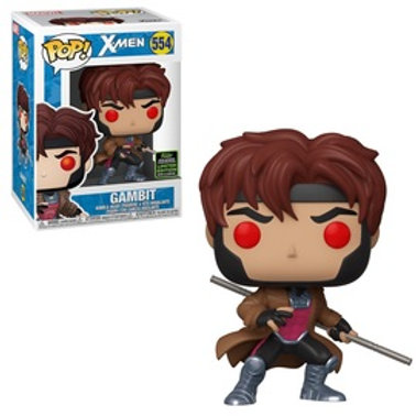 Funko POP! X-men - Gambit with Bo-staff (554)