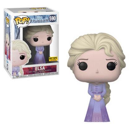 Funko POP! Frozen 2 - Elsa in Dress Hot Topic Sticker (590)