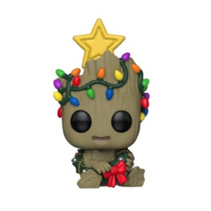 Funko POP! Marvel - Holiday Groot with lights (530)