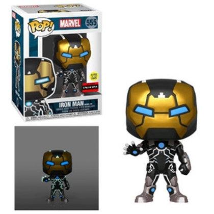 Funko POP! Marvel - Iron man Model 39 GITD BBTS Sticker (555)