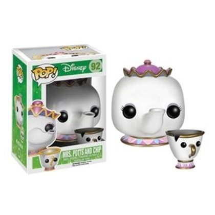 Funko POP! Beauty and the Beast - Mrs.Potts and Chip (92)
