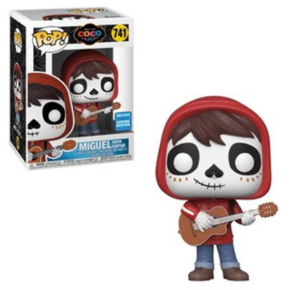 Funko POP!  Coco - Miguel with Guitar Wondroud con sticker (741)