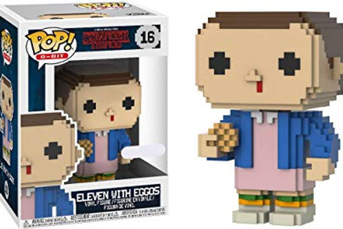 Funko POP! Stranger Things  - 8BIT Eleven SE Exclusive (16)