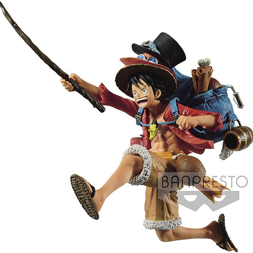 Banpresto One Piece Three Brothers Luffy